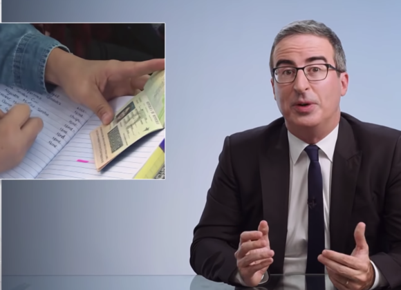 John Oliver takes on the asylum process